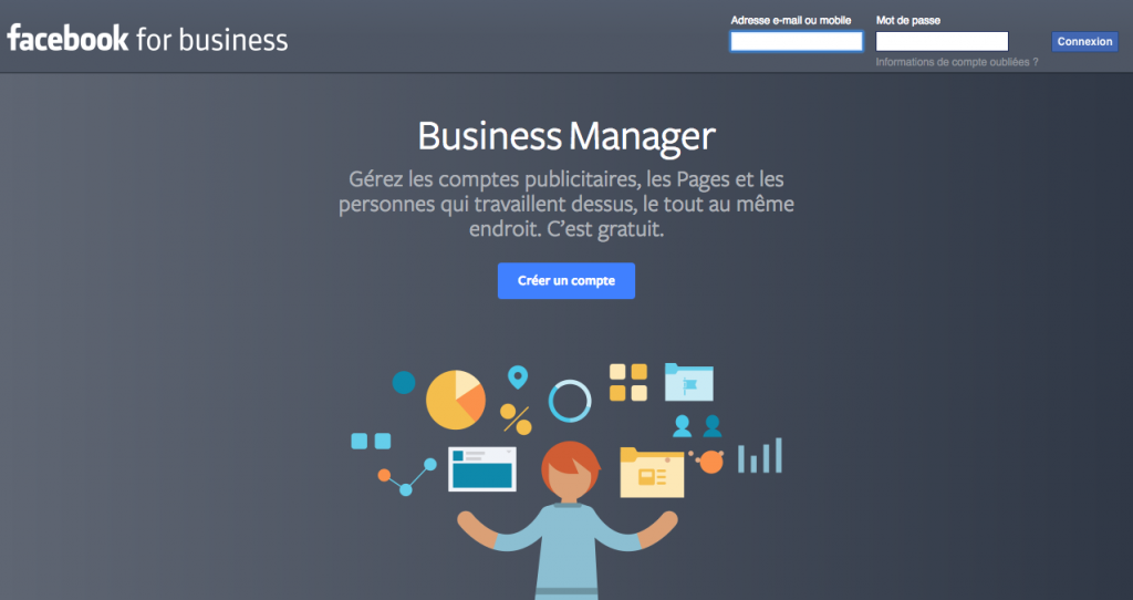 facebook business manager-facebook messenger
