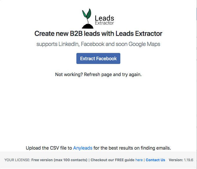 facebook ads-leads extractor